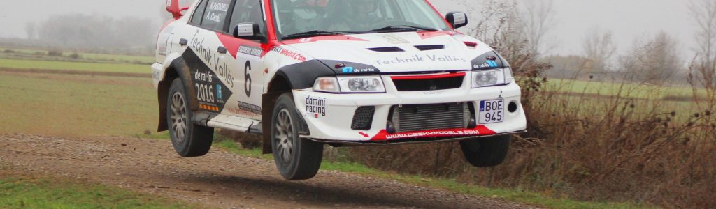 Mitsubishi Evo 6 rallye de tierra