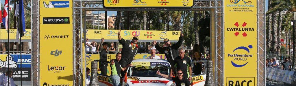 Podio RallyRACC 2017